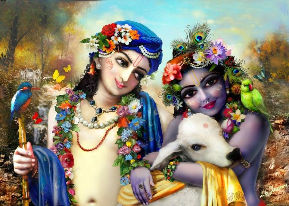 Баларама и Кришна