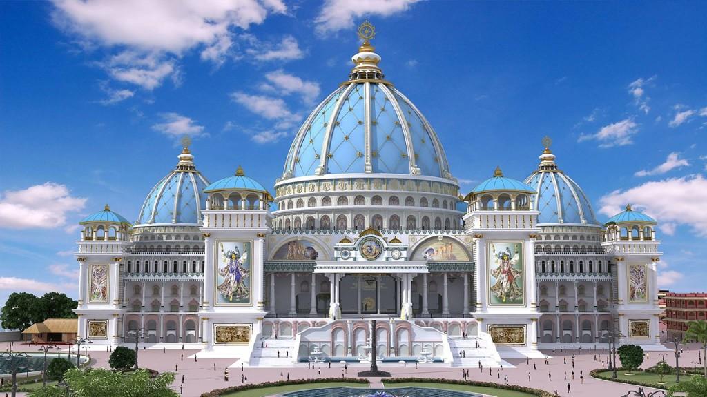 Графический макет окончательного варианта Храма Ведического Планитария